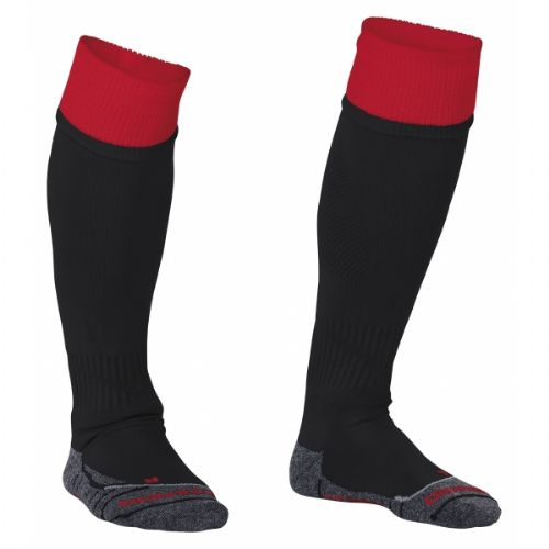 Reece Combi Socks Black/Red Unisex Senior
